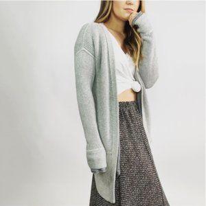 Lululemon Vestigan Gray Knit Cardigan